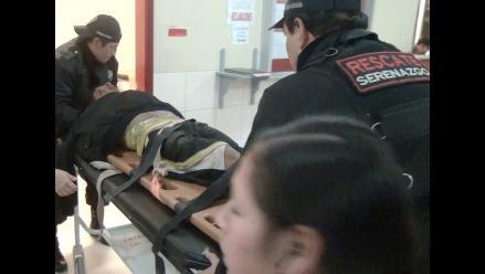 Abancay: nueve serenos fueron agredidos durante vigilancia nocturna