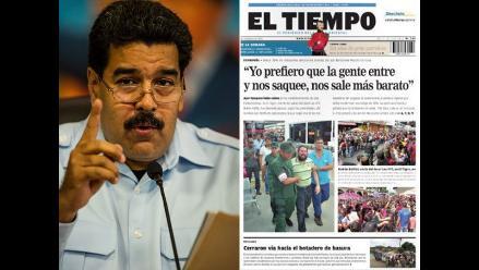Venezuela: periodistas denuncian otra