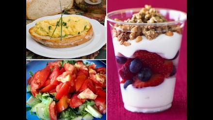 Diez sencillas comidas para preparar en tu pensión universitaria