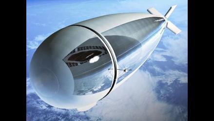 Idean dirigible estratosférico que sustituye las funciones de un satélite