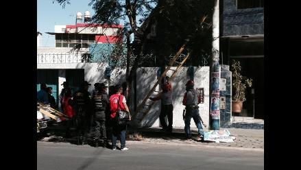 Retiran más de 50 carteles electorales en Arequipa