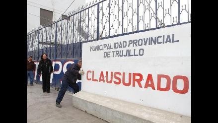 Clausuran terminal de Tepsa y Cruz del Norte en Trujillo