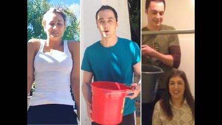 The Big Bang Theory: Actores se unen al Ice Bucket Challenge