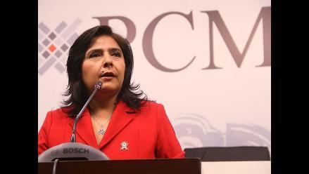 Ana Jara: Gobierno ofrece al país propuestas concretas y serias