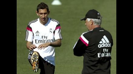 Carlo Ancelotti: Di María pidió irse y rechazó renovar con Real Madrid