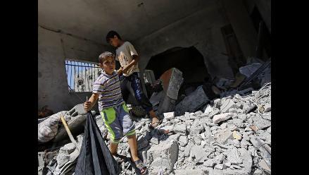 Gaza: Unicef cifra en 469 los menores muertos por el conflicto