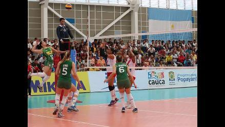 Sudamericano de Vóley Sub 22: Perú cayó 3-0 ante Brasil en su segundo duelo