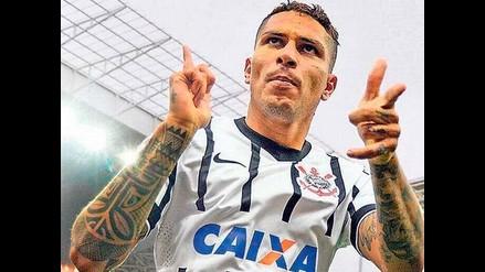 Mira el gol de Paolo Guerrero en el Corinthians-Goias por el Brasileirao