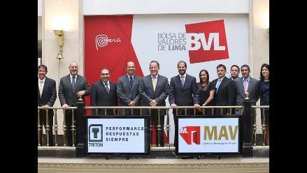 BVL: Empresa Tritón Trading realiza exitosa colocación de papeles