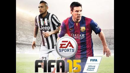 Arturo Vidal aparece en la portada de FIFA 15 para Latinoamérica