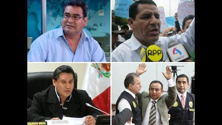 Autoridades iban por la reeleción, pero fueron tachados antes de carrera