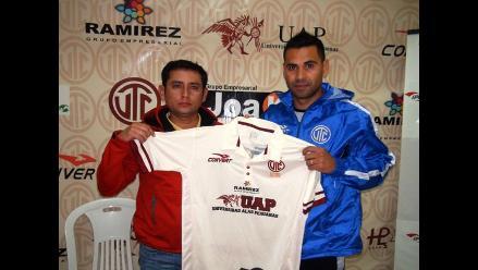 Cajamarca: refuerzo Luciano Leguizamón se unió al equipo del UTC