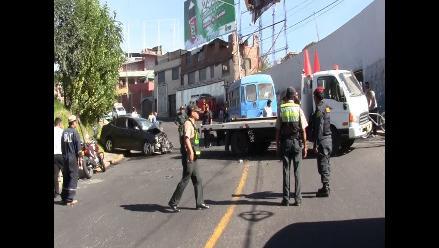 Ascope: triple choque deja cuatro heridos de gravedad