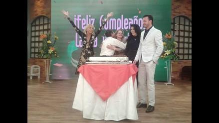 Así celebró Laura Bozzo su cumpleaños número 63