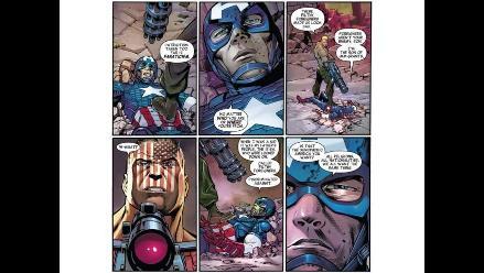 El Capitán América toma partido por los inmigrantes indocumentados