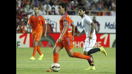 Valencia debuta en la Liga Española con empate 1-1 ante el Sevilla