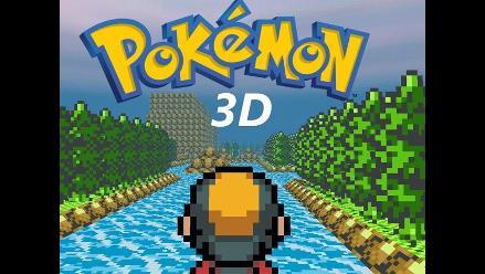 Pokémon 3D: Probando el mundo en primera persona