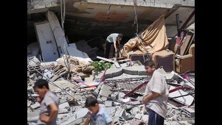 El 25% de la población de Gaza abandonó sus hogares, según ONU