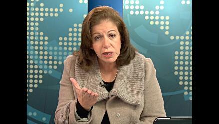 Lourdes Flores sugiere cambios y negociación en voto de confianza