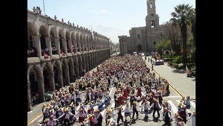 Carnaval arequipeño ingresa al libro de los Récord Guinness