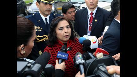 Ana Jara anunció que no habrá cambios en el Gabinete Ministerial