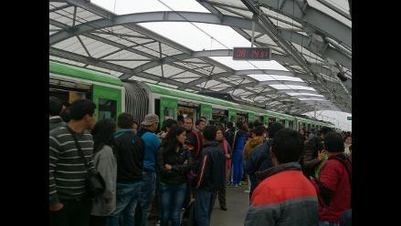 Se restableció el servicio, tras fallas en la línea 1 del Metro de Lima