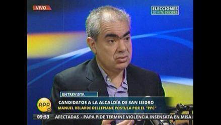Manuel Velarde ofrece serenazgo del tránsito y más estacionamientos