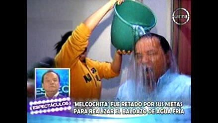 Video:´Melcochita´ y su Ice Bucket Challenge