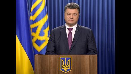 Ucrania: Poroshenko disuelve el Parlamento y convoca a comicios