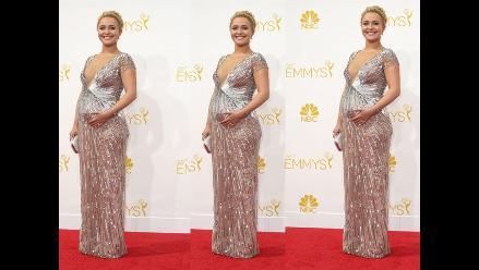 Hayden Panettiere reveló el sexo de su bebé en los Emmy