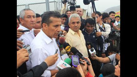 Ollanta Humala: El Gabinete se encuentra sólido