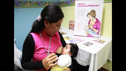 Cajamarca: impulsan lactancia materna para evitar la desnutrición