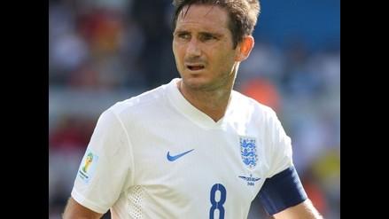 Frank Lampard le dice adiós a la selección de Inglaterra tras 15 años