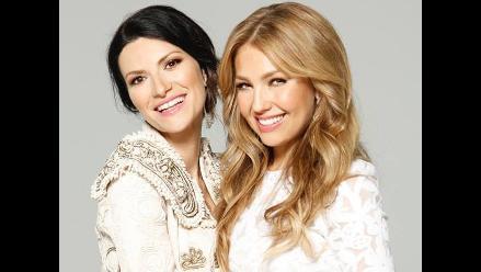 Thalía celebra su cumpleaños con dueto junto a Laura Pausini