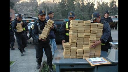 Incautan tres toneladas de clorhidrato de cocaína en Trujillo