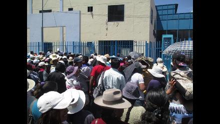 Docentes del Sutep realizan plantón en el Cusco