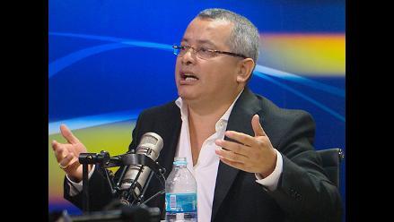 Huancavelica: Maciste Díaz rechaza vinculación con Rodolfo Orellana