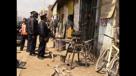 Huancayo: multan 30 talleres de mecánica sin licencia de funcionamiento