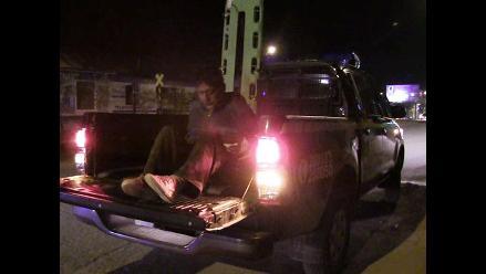 Huancayo: vecinos golpean a ladrón por robar maderas de construcción