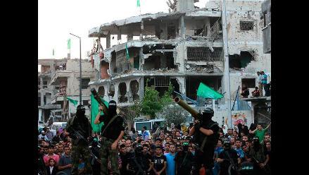 Hamas celebra victoria política y militar en Gaza tras 50 días de conflicto