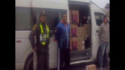 Lima: caen asaltantes que robaron 100 mil soles en cosméticos