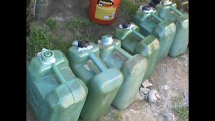 Tumbes: PNP incauta más de 7 mil galones de combustible ecuatoriano
