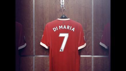 Di María lucirá en Manchester United el 7 de Cristiano Ronaldo y Beckham
