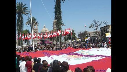 Tacna y la historia de la Procesión de la Bandera