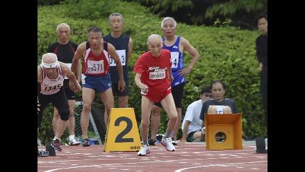 El ´Bolt de Oro´ japonés, de 103 años, desafía al hombre más rápido del mundo