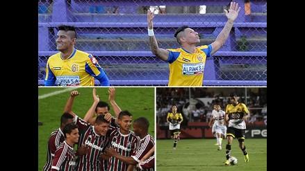 Copa Sudamericana: Capiatá avanza, Fluminense y Criciúma toman ventaja