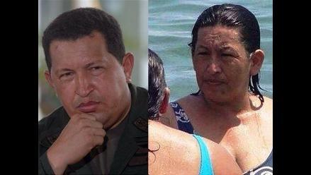 Imagen de mujer parecida a Hugo Chávez circula en las redes sociales