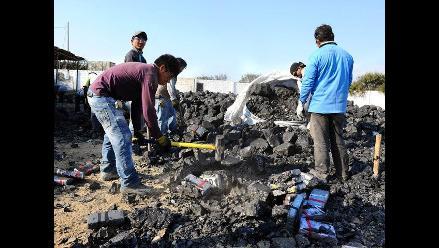 Trujillo: incautan insumos químicos junto a las 7.5 toneladas de droga
