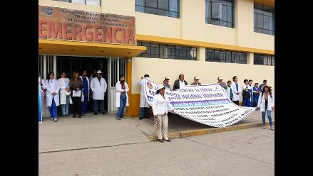 Huancayo: médicos suspenden entrega de servicios médicos