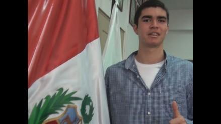 Squashista Diego Elías recibió un merecido reconocimiento del IPD